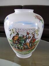 Jäger Große Vase Porzellan Weiß Die Sieben Schwaben August Gaber Bavaria