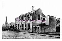 pu1056 - Heckmondwike Grammar School , New Wing , Yorkshire - photograph