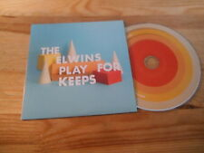 CD Indie The Elwins - Play For Keeps (12 Song) Promo AFFAIRS OF THE HEART cb