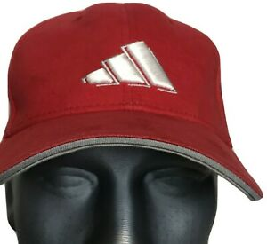 Adidas Red Hat Baseball Cap Fitted XL 7 3/8