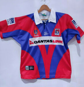 Newcastle Knights NRL Rugby Jersey - Mens Medium - Polyester