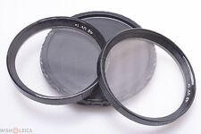 MINT*  ZEISS CONTAREX UV FILTER 49mm DIAMETER AND FIT THE B56 BAYONET LENSES