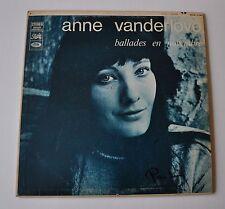 ANNE VANDERLOVE Ballades en Novembre LP Record
