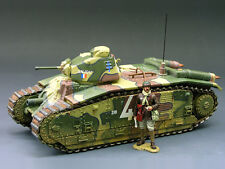 King & Country FOB009 French Char B1 Tank 1st Version (RETIRED)