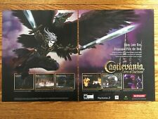 Castlevania: Curse of Darkness Playstation PS2 Xbox Game Poster Ad Art Print
