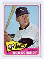 1965 Topps #582 Bob Schmidt New York Yankees Baseball Card