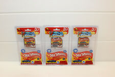 3 PACK World's Smallest Hot Wheels Series 2 Miniature Edition Gift Set Bundle