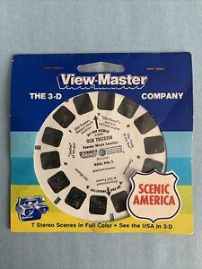 Vintage Viewmaster reel. Old Tucson. Reel #1. ~ Still Factory Sealed.