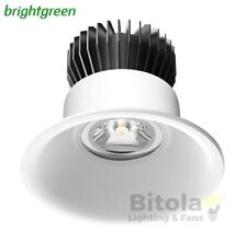 NEW BRIGHTGREEN D700+ CURVE 12w LED DOWNLIGHT WHITE ROUND 3000K WARM 90mm CUTOUT