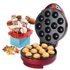 American Originals Cake Pop Maker Mini Cup Cakes Muffins Bundle Red Cook Party