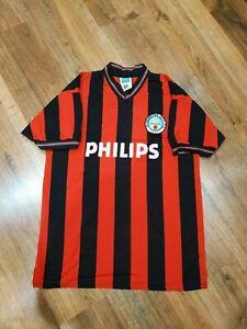 Manchester City football jersey retro replica shirt 1986 size M