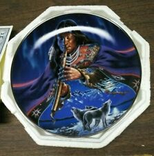 """"""" Spirit of the Moonlight"""" Collector Plate Royal Doulton Ra1481 Charles Frizzell"""