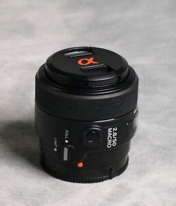 Sony  2.8/50  Macro Sony A mount