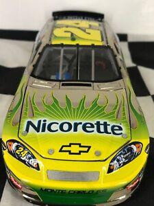 OWNER'S ELITE WHITE GOLD 1:24 Jeff Gordon #24 Nicorette 2007 Chevy #57 of 100
