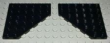 Lego Platte Ecke 6x6 Schwarz 2 Stück                                      (1403)