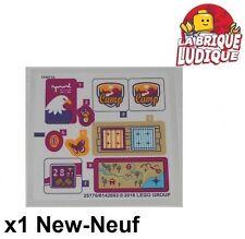 Lego - 1x Sticker Autocollant Friends 41122 Adventure Camp Tree House NEUF