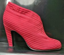 United Nude Fold Over Hi Ankle Boots Red 3143 Women US 9 EU 40