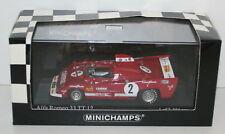 MINICHAMPS 1/43 - 400 751202 ALFA ROMEO 33 TT 12 PESCAROLO/BELL TEAM WKRT WINNER