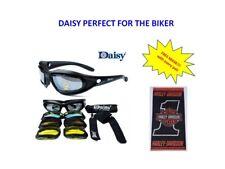 DAISY C5  Sunglasses/Googles Motorcycle Harley - Free Mask No.1 CM22