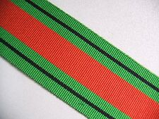 WWII Defence Medal Ribbon 1939-45 Full Size 16cm long