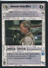 Star Wars CCG A New Hope Limited BB Commander Vanden Willard