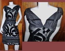 RaRE VTG 50s SAKS FIFTH AVE Designer Marusia Silk Velvet Cocktai Party DRESS