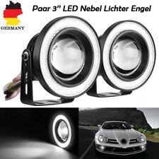 """Paar 3"""" Auto Nebelscheinwerfer Auto COB LED Eagle Eye Tagfahrlicht 12V 3200LM"""