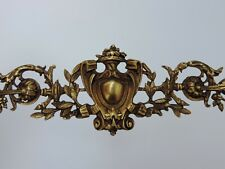 ALTER BESCHLAG ORNAMENT APPLIKATION BRONZE FRENCH ANTIK