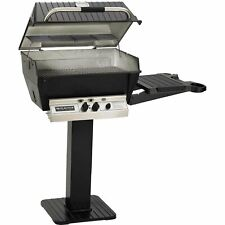 Broilmaster H3 Grill Package Includes 26-Inch Patio Post with Base and Side S.