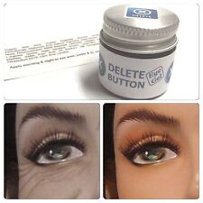 Delete Button Eye Gel Jar DMAE Haloxyl Caffeine Circle .5 oz Dark Puffy Circles