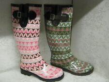 Stivali e stivaletti da donna multicolori gomma da infilare