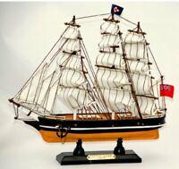 Replica of Historical Ship Cutty Sark - Nautical Ship Figurine Realistic Looking