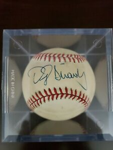 MLB Official National League Baseball Signed By Darryl Strawberry, w/Case