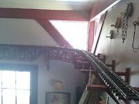 PLANS for CURVED 6 Foot Diameter G Scale Ceiling Railroad Truss Bridge
