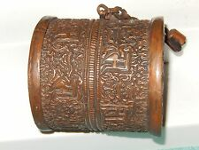 Vintage Copper Metal Middle Eastern? Container Hanging? Hand made