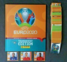 Panini EURO EM 2020 Tournament Edition Komplett Set alle 678 Sticker + Hardcover