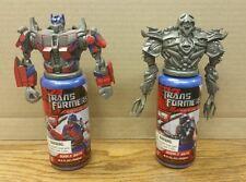 Transformers Movie Bubble Bath Megatron & Optimus Prime Sealed NEW Ultra Rare