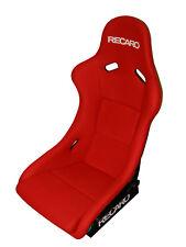 RECARO Pole Position Perlon Velour Red Bucket Seat - FIA Approved