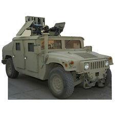HUMVEE CARDBOARD CUTOUT Standee Standup Poster Prop Hummer Army Military Vehicle