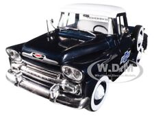 1958 CHEVROLET APACHE STEPSIDE BLUE 1/24 DIECAST MODEL BY M2 MACHINES 40300-60 A