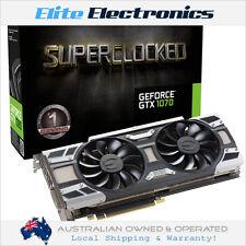EVGA GEFORCE GTX 1070 8GB GDDR5 SUPERCLOCKED ACX 3.0 VIDEO GRAPHIC CARD GTX1070