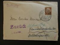 1939 Berlin Wilmersdorf  Germany Advertising Cover