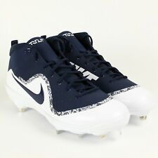 lowest price 3603e 5bb07 Fuerza de Nike Air Mike Trucha 4 Pro De Metal De Béisbol Color Azul Marino  917920-441 Talla 15