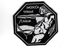 [Patch] 1° STORMO INCOCCA TENDE SCAGLIA cm  8x 8 cm toppa ricamo REPLICA - 356