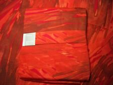 "Crate & Barrel Marimekko Ulappa Red Tablecloth Cotton 60"" x 108"" NEW"