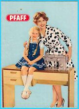 PFAFF - famous German sewing machine vintage advertising brochure * nähmaschine