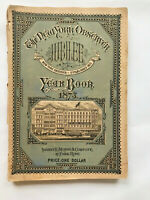 The Jubilee Year Book of the New York Observer 1873 Alamanck, Tables, Charts, Re