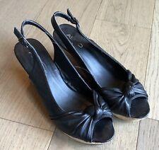ALDO Black Wedges Women's Size US 8.5 / EUR 39