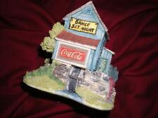 "LILLIPUT LANE ""COCA COLA"" RETIRED MIB COA SATURDAY NIGHT JIVE"