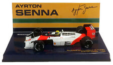 Minichamps McLaren Honda MP4/4 #12 1988 World Champion - Ayrton Senna 1/43 Scale